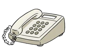 Telefon Illustrationen